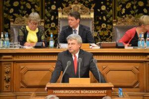 Sven Tode (SPD, MdHB) in der Hamburgischen Bürgerschaft