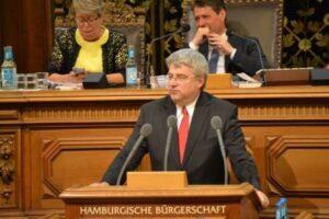 Dr. Sven Tode in der Hamburgischen Bürgerschaft