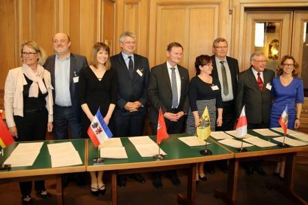 Hamburg ; PSO Konferenz im Rathaus