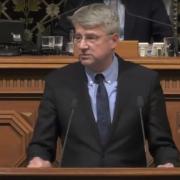 Dr. Sven Tode in der Bürgerschaft (Dezember 2018)