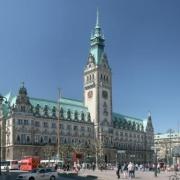 Hamburger Rathaus (Panorama)