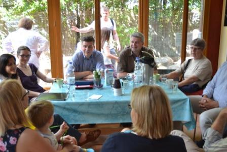 Sommertour 2014 im Mütterzentrum