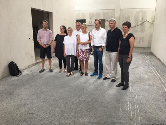Sommertour in der neue Frohbotschaftskirche